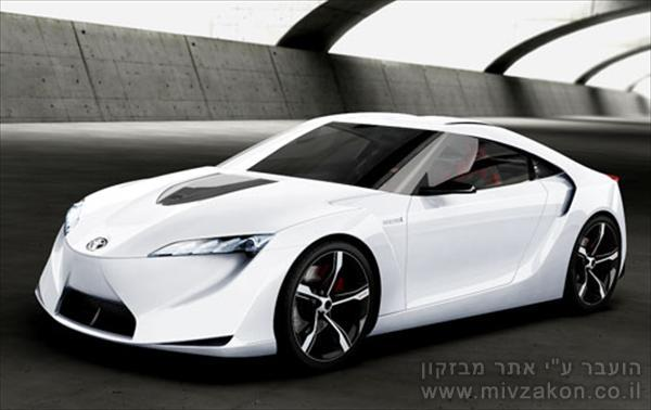 Toyota FT-HS Hybrid Sports Concept рус