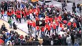 ריקוד רחוב המוני בניו יורק
