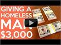 3000$ להומלס - בעקבות סרטון באינטרנט