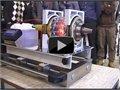 הדגמה של מנוע סילון עשוי מזכוכית