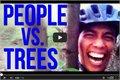 קטעים של אנשים נופלים מהעצים