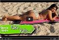 פספוסים בחוף הים: בחורה עם הפתעה