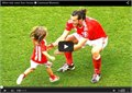 איך ילדים פוגשים כוכבי כדורגל