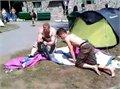 """לשתות ואח""""כ להקים אוהל , זה לא דבר טוב"""