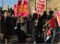 הפגנות ענק של סטודנטים ואנשי הוראה